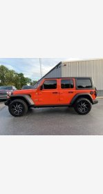 2018 Jeep Wrangler 4WD Unlimited Sport for sale 101209819