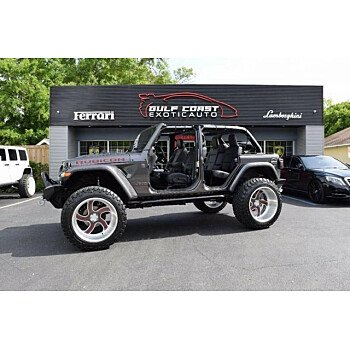 2018 Jeep Wrangler 4WD Unlimited Rubicon for sale 101224760