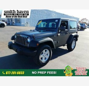 2018 Jeep Wrangler JK 4WD Sport for sale 101238052