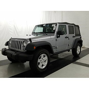 2018 Jeep Wrangler JK 4WD Unlimited Sport for sale 101238162