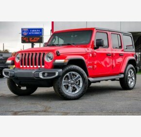2018 Jeep Wrangler 4WD Unlimited Sahara for sale 101240435
