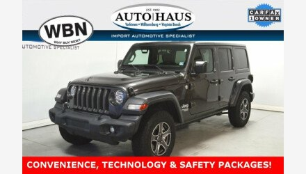 2018 Jeep Wrangler 4WD Unlimited Sport for sale 101245731
