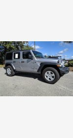 2018 Jeep Wrangler 4WD Unlimited Sport for sale 101282534