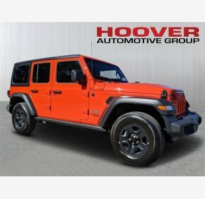 2018 Jeep Wrangler 4WD Unlimited Sport for sale 101282535
