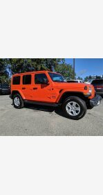 2018 Jeep Wrangler 4WD Unlimited Sahara for sale 101282536