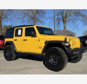 2018 Jeep Wrangler 4WD Unlimited Sport for sale 101282540