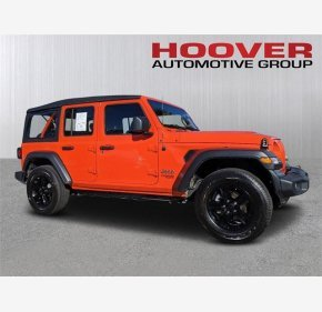 2018 Jeep Wrangler 4WD Unlimited Sport for sale 101282545