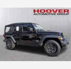 2018 Jeep Wrangler 4WD Unlimited Sport for sale 101282547