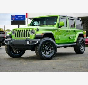 2018 Jeep Wrangler 4WD Unlimited Sahara for sale 101306145