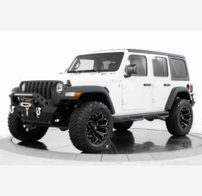 2018 Jeep Wrangler 4WD Unlimited Sport for sale 101322039