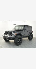 2018 Jeep Wrangler 4WD Sport for sale 101323602
