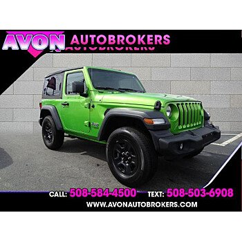 2018 Jeep Wrangler 4WD Sport for sale 101353080