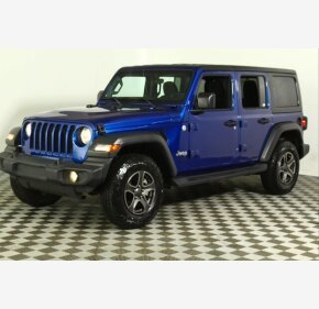 2018 Jeep Wrangler for sale 101412676