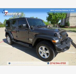 2018 Jeep Wrangler for sale 101484628