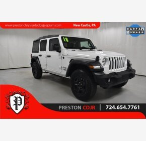 2018 Jeep Wrangler for sale 101490694