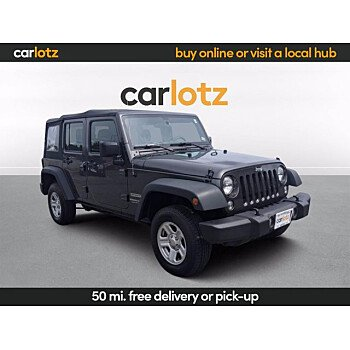 2018 Jeep Wrangler for sale 101515310