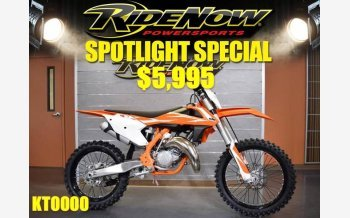 2018 KTM 150SX for sale 200490169