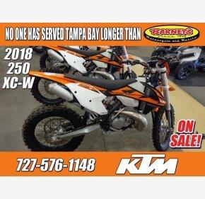 2018 KTM 250XC-W for sale 200698331
