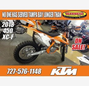 2018 KTM 450XC-F for sale 200698328