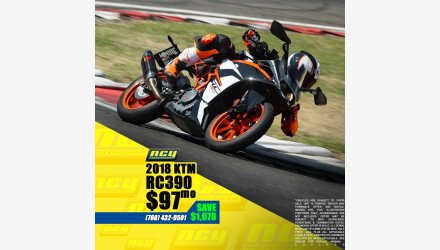 2018 KTM RC 390 for sale 200707352