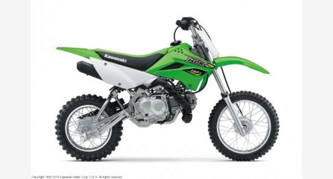 2018 Kawasaki KLX110 for sale 200498249