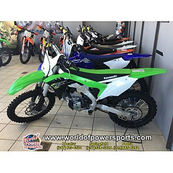 2018 Kawasaki KX250F for sale 200636769