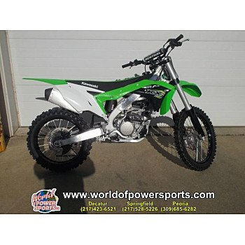 2018 Kawasaki KX250F for sale 200636908