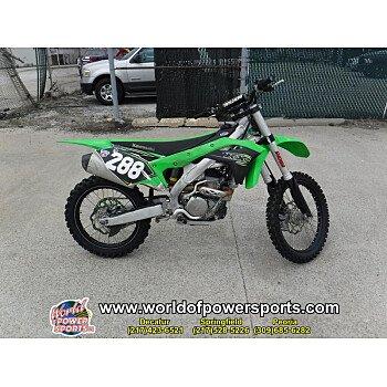 2018 Kawasaki KX250F for sale 200717991