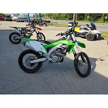 2018 Kawasaki KX450F for sale 200916581