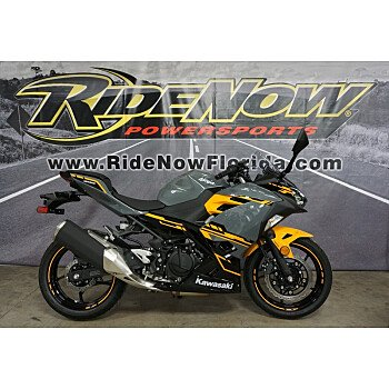 2018 Kawasaki Ninja 400 for sale 200570341