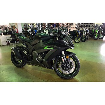 2018 Kawasaki Ninja ZX-10R for sale 200680915