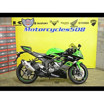 2018 Kawasaki Ninja ZX-6R for sale 200665368