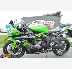 2018 Kawasaki Ninja ZX-6R Motorcycles for Sale - Motorcycles
