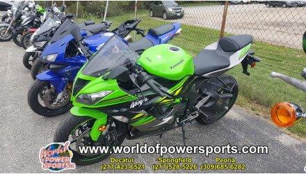 2018 Kawasaki Ninja Zx 6r Motorcycles For Sale Motorcycles