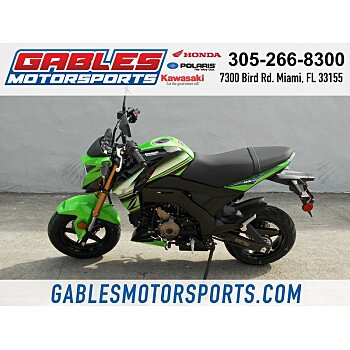 2018 Kawasaki Z125 Pro for sale 200496551