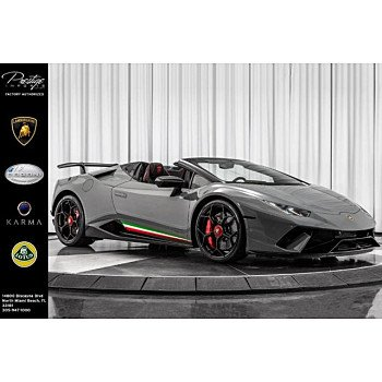 2018 Lamborghini Huracan Performante for sale 101176320
