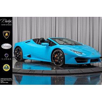 2018 Lamborghini Huracan for sale 101396430