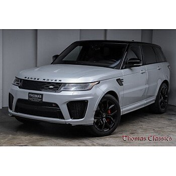 2018 Land Rover Range Rover Sport SVR for sale 101432800