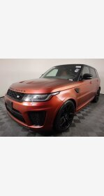 2018 Land Rover Range Rover Sport SVR for sale 101472008