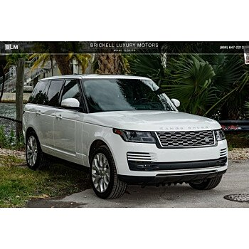 2018 Land Rover Range Rover Supercharged for sale 101118349