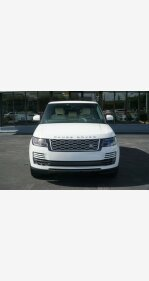 2018 Land Rover Range Rover for sale 101267520