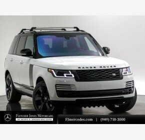 2018 Land Rover Range Rover Supercharged for sale 101293494