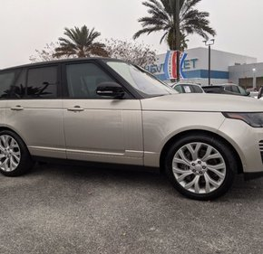 2018 Land Rover Range Rover for sale 101442383