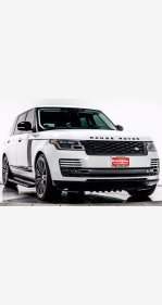 2018 Land Rover Range Rover for sale 101454999
