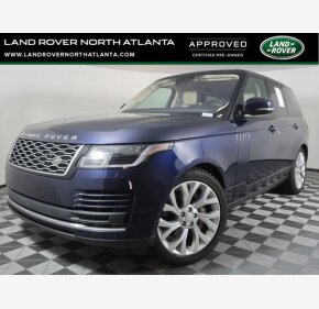 2018 Land Rover Range Rover for sale 101457790