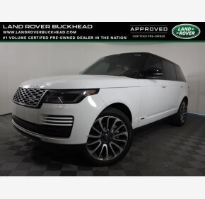 2018 Land Rover Range Rover for sale 101485334