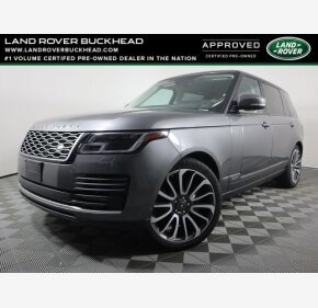 2018 Land Rover Range Rover for sale 101485338