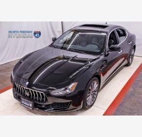 2018 Maserati Ghibli for sale 101036125