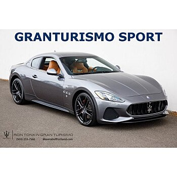 2018 Maserati GranTurismo for sale 101604119