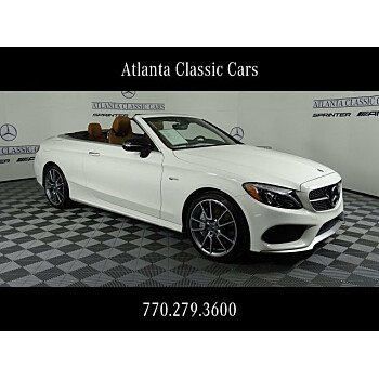 2018 Mercedes-Benz C43 AMG 4MATIC Cabriolet for sale 101110243